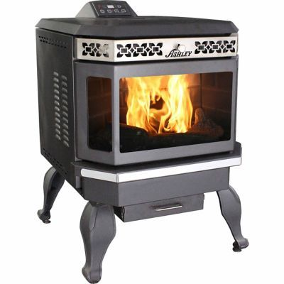 Find Ashley 2 200 Sq Ft Bay Front Pellet Stove With Legs In Pellet Stove Stove Pellet
