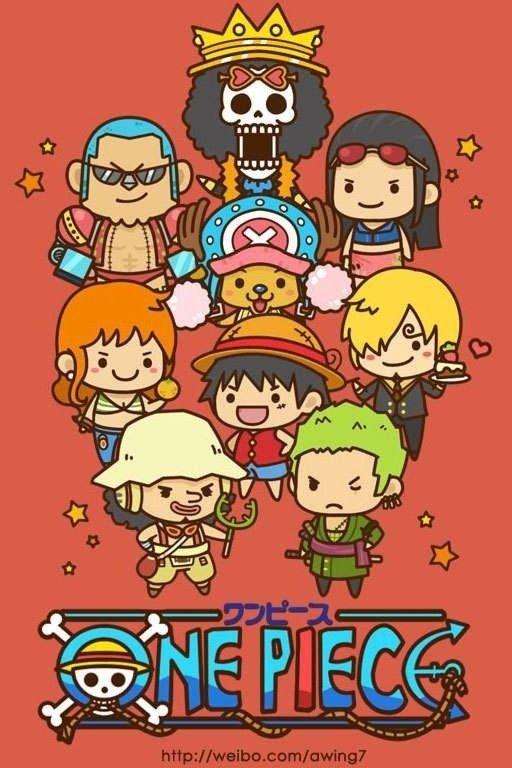 Straw Hat Crew One Piece Anime One Piece Dibujos Imagenes De One Piece Iphone one piece chibi wallpaper