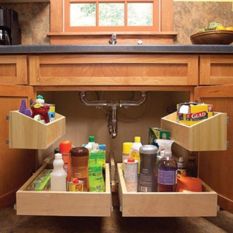 Kitchen Sink Pull Out Storage Diyviews