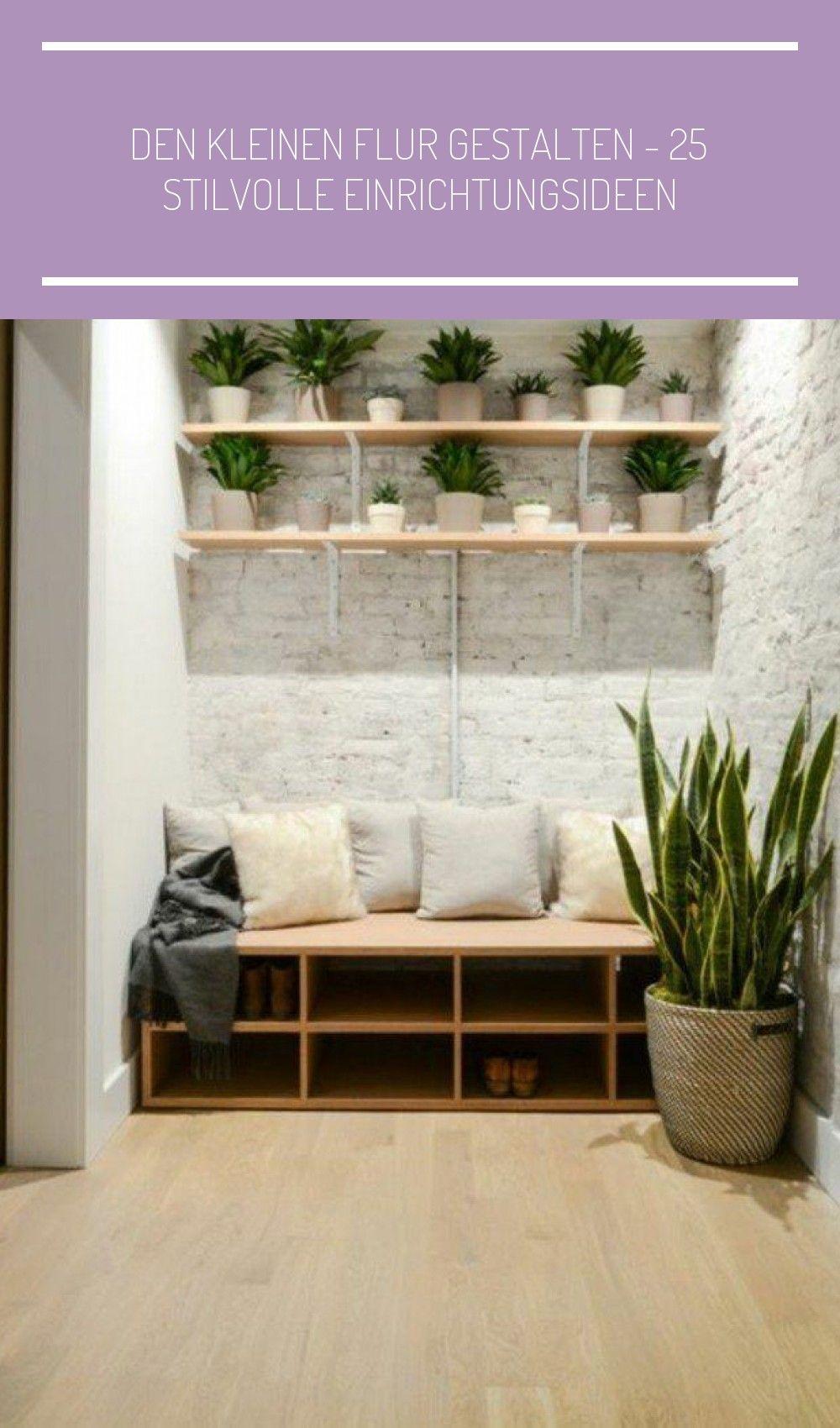 Flur Gestalten Wandregale Schuhregale Zimmerpflanzen Haus Deko