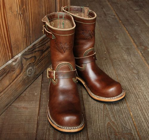a723e599433 Viberg Engineer Boot - Brown CXL | boots in 2019 | Engineer boots ...