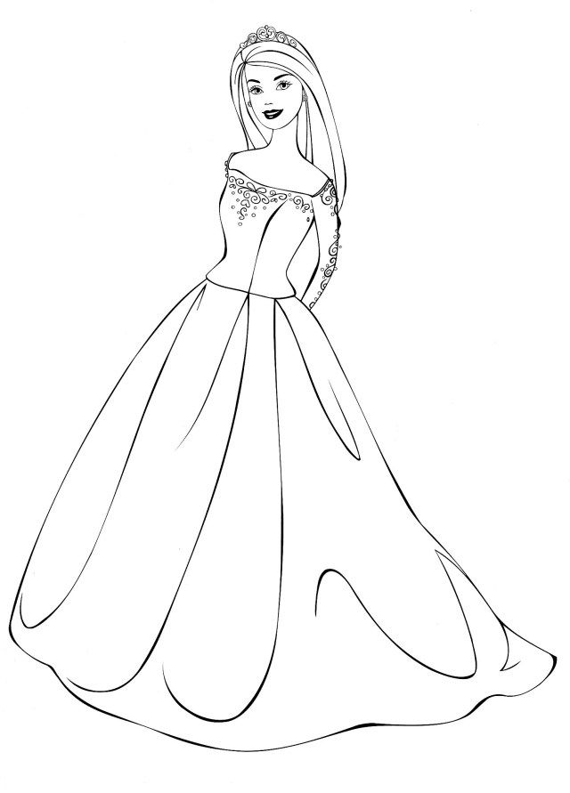 25+ Creative Picture of Dress Coloring Pages ...