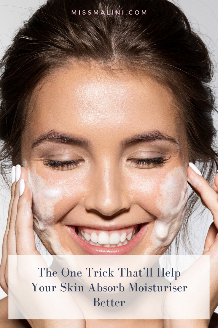 The One Trick That Ll Help Your Skin Absorb Moisturiser Better In 2020 Moisturiser Skin Your Skin
