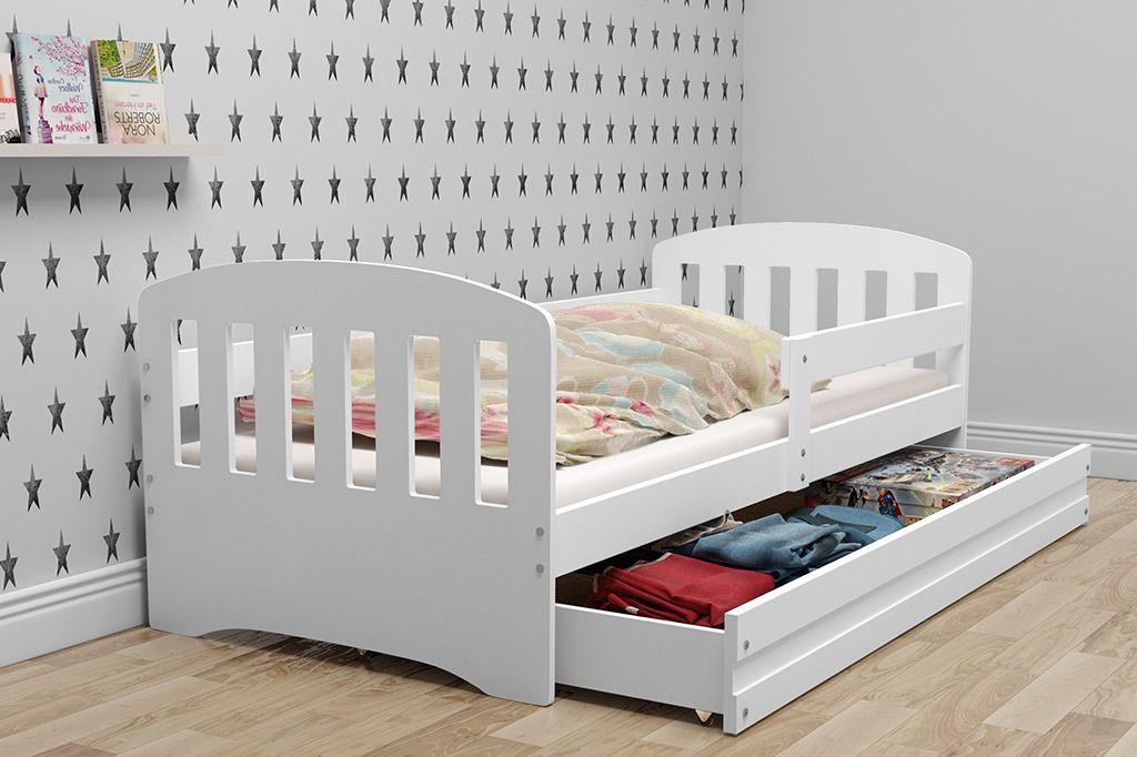łóżko Dla Dzieci Classic 1 Osobowe Białe łóżka