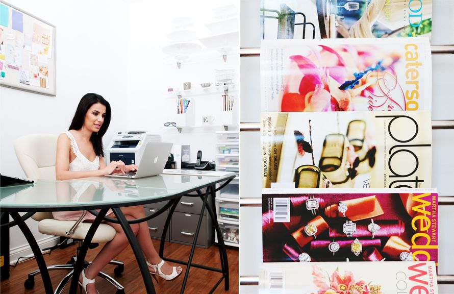 In the Chicago Office of Elaina Vazquez, Owner and Executive Chef at Boutique Bites