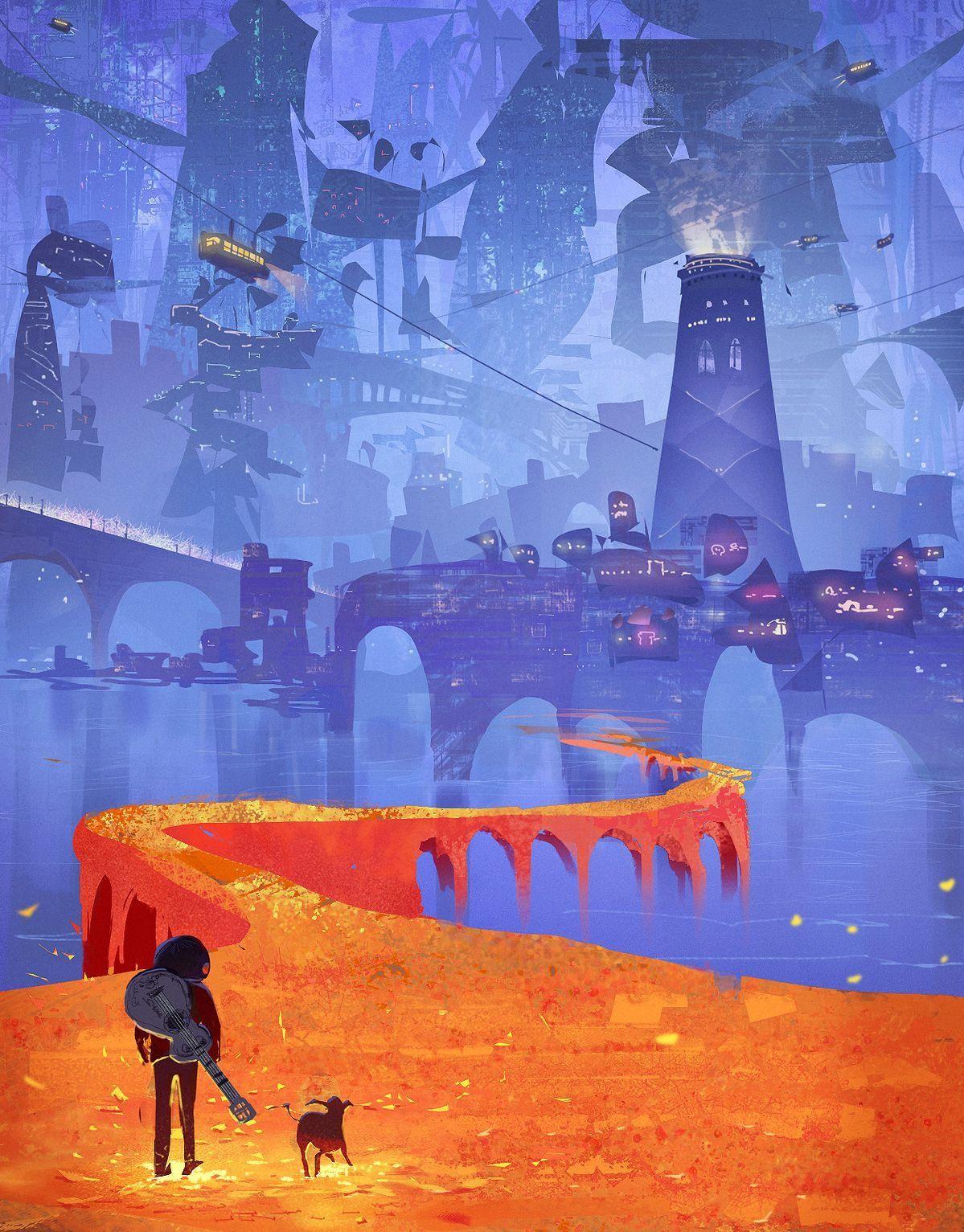The Marigold Road In Coco Disney Pixar Disney Art Disney Wallpaper