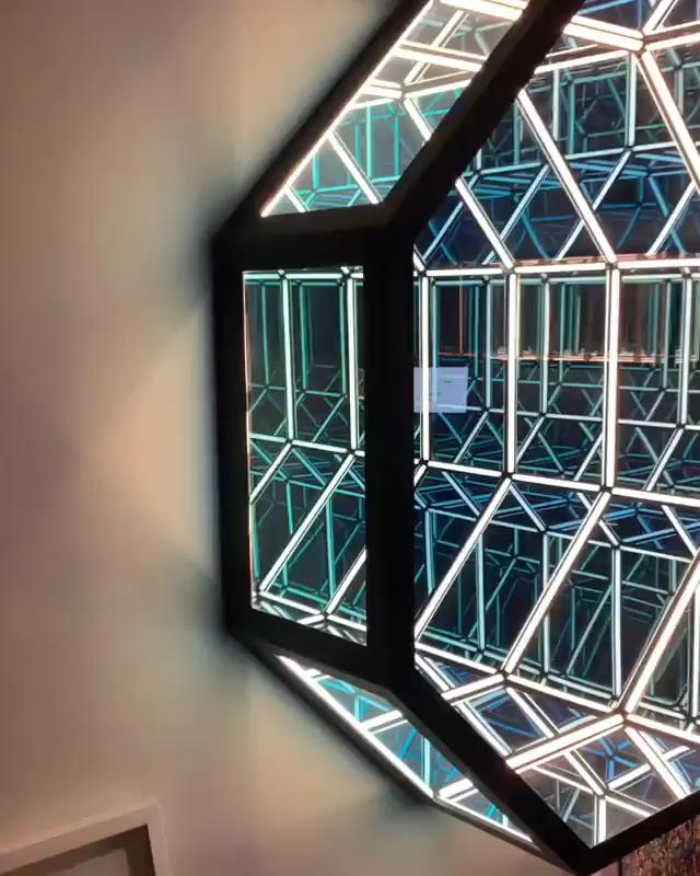 Ummm Secret Santa Video Infinity Mirror Mirror Light Installation