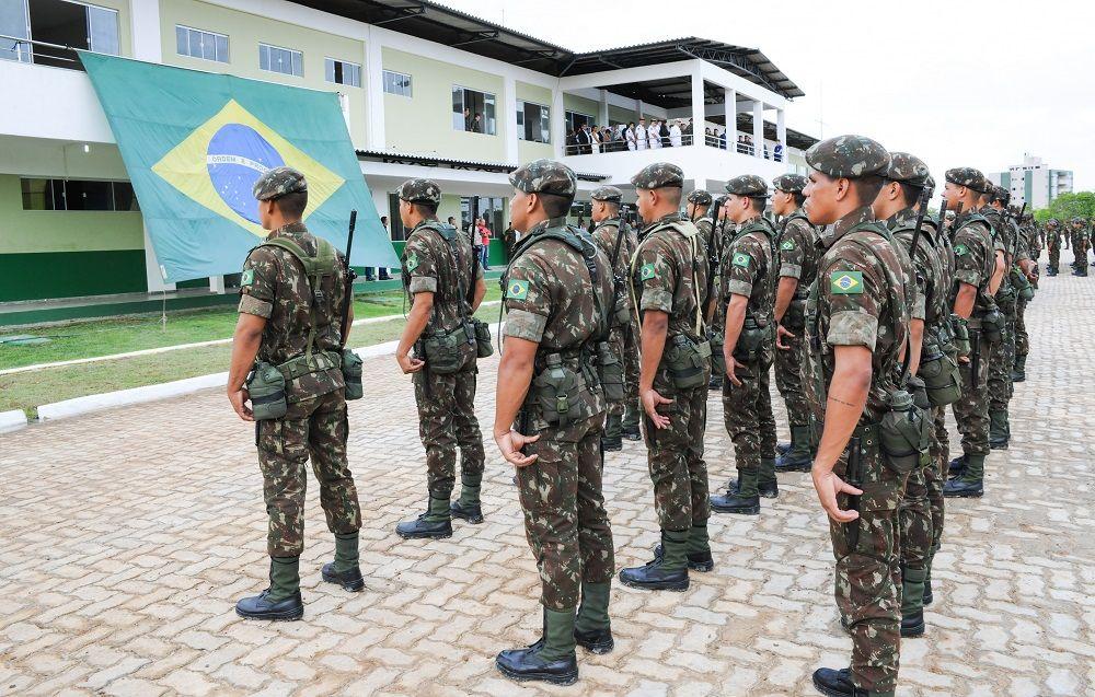 Nova Brigada Reforca Presenca Do Exercito Brasileiro Na Regiao