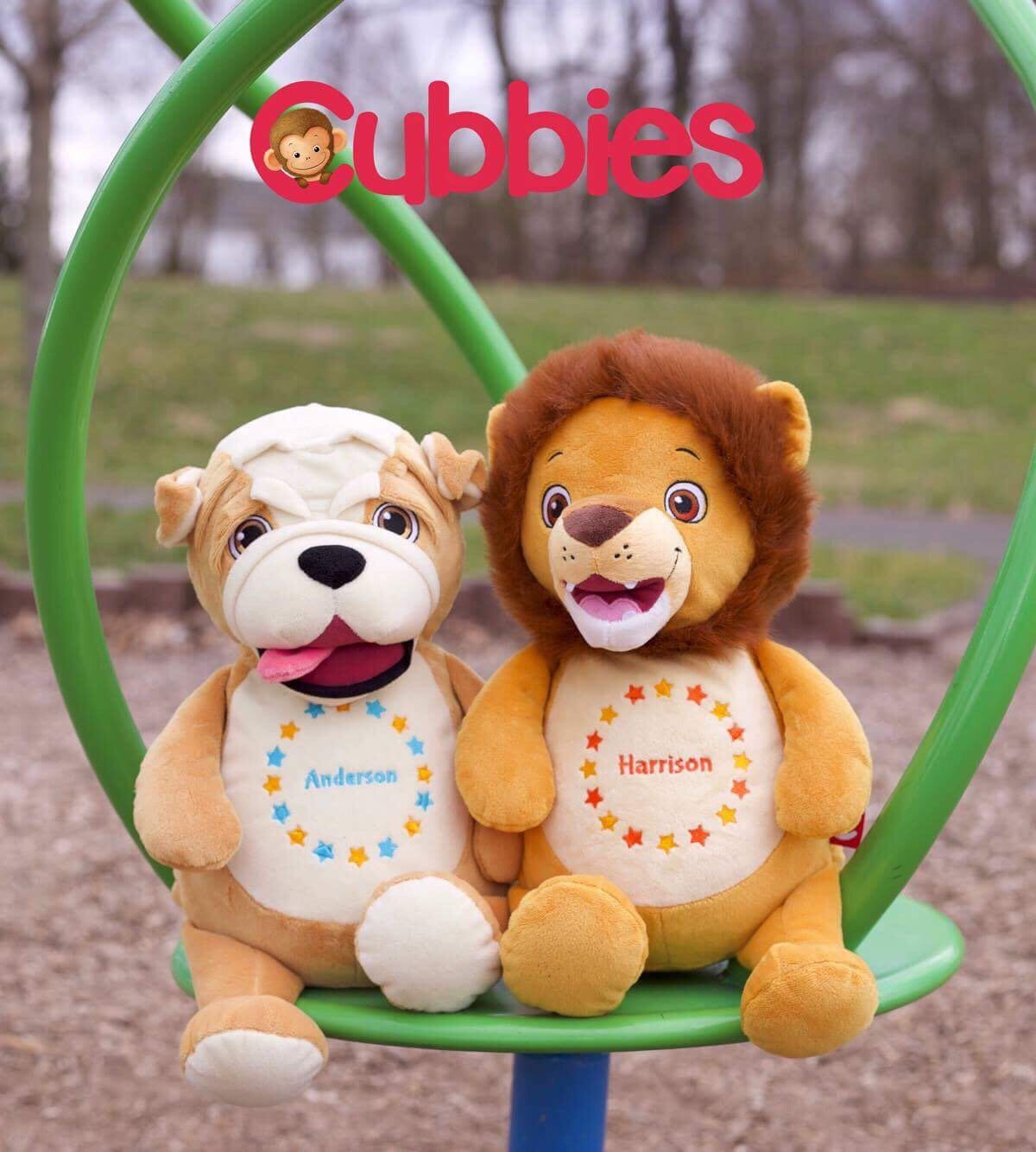 Custom Baby Cubbie, Personalized Stuffed Animal, Plush Toy