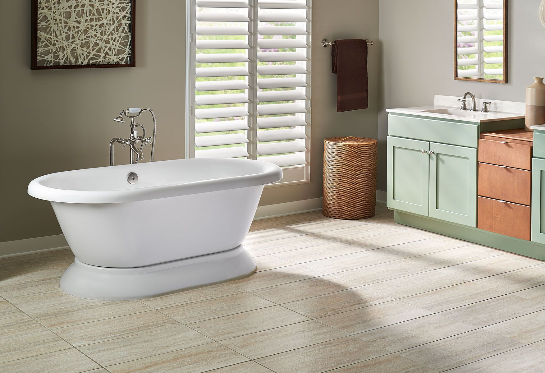 Both Modern And Traditional The Era Double Ended Bath Is