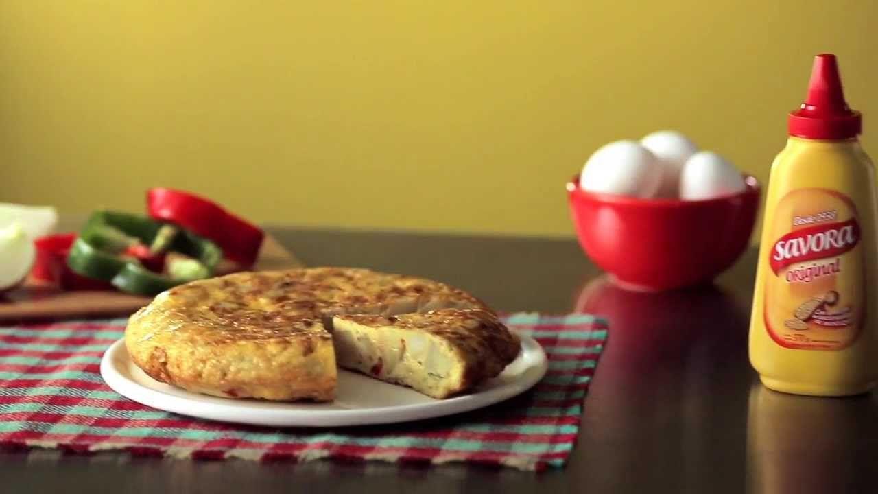 Tortilla Muda | Cómo hacer una tortilla de papas con cebolla, morrón y S...
