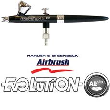 HARDER /& STEENBECK EVOLUTION ALPLUS 2 IN 1 GRAVITY FEED ALUMINIUM AIRBRUSH