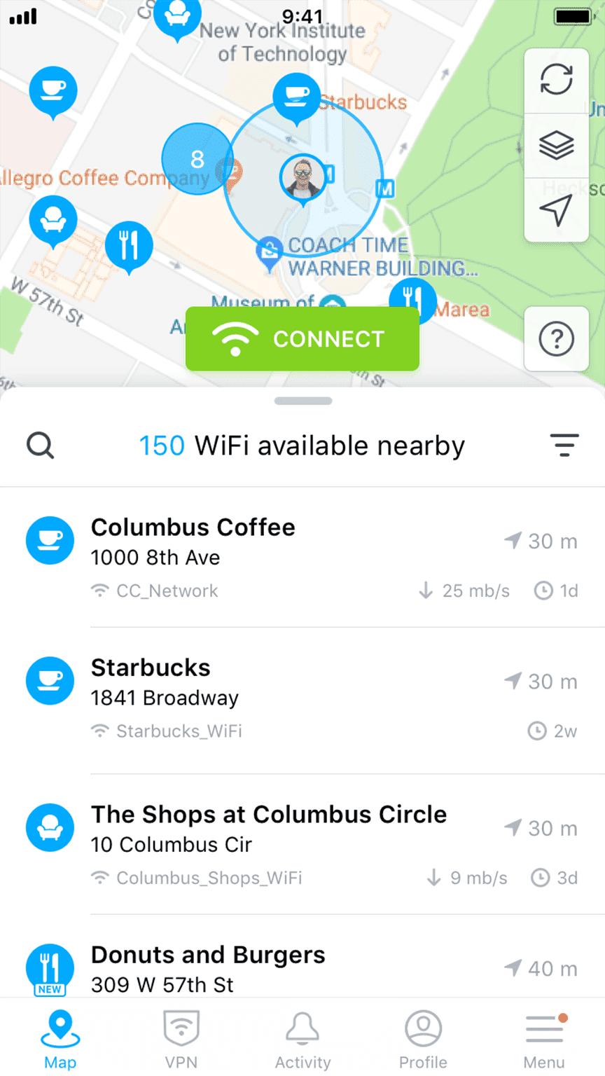 1 WiFi Finder Astuce iphone, Logiciel gratuit, Informatique