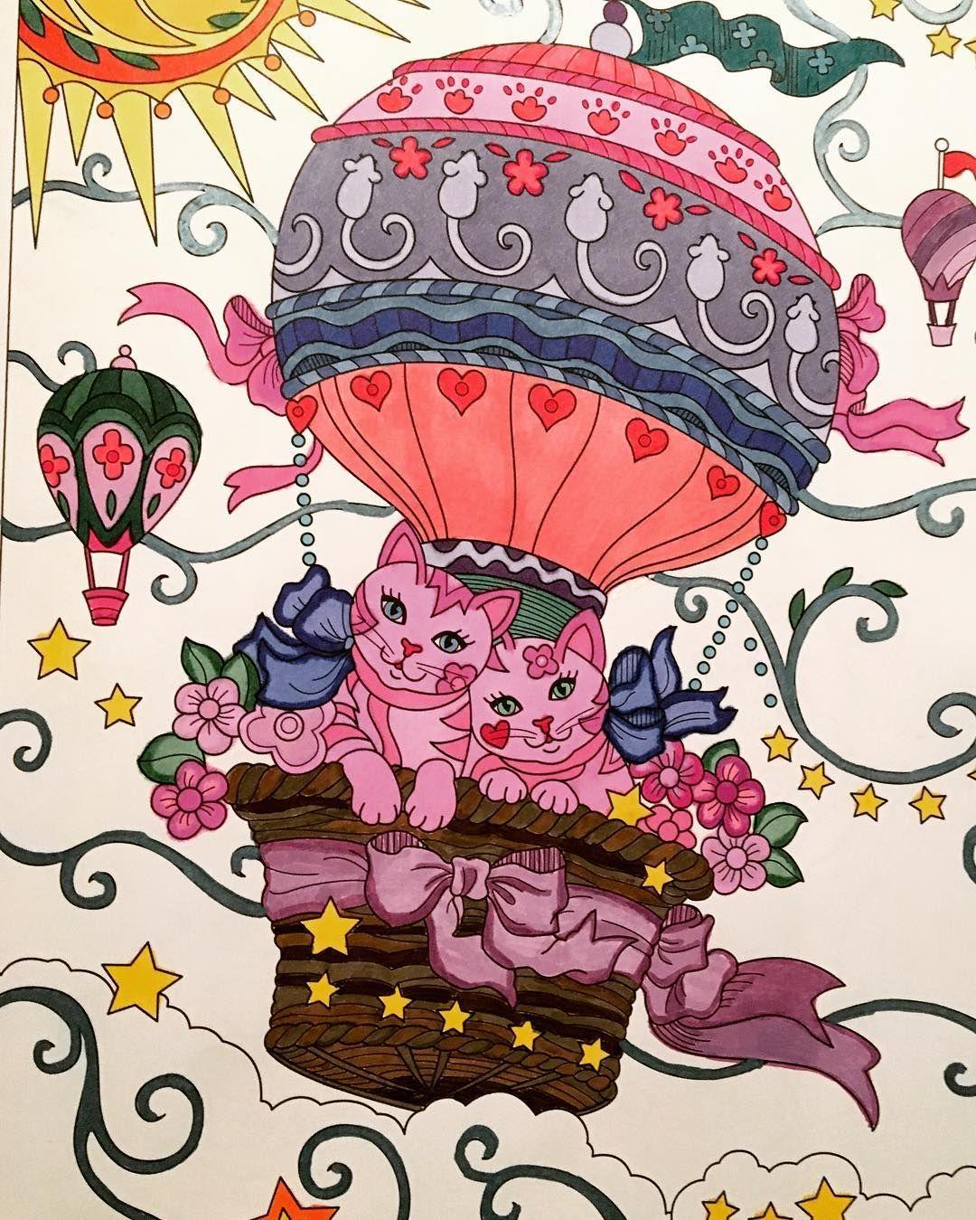 Pampered Pets Coloring Coloringforadults Marjoriesarnat Pampered Pets Coloring Book Cat Coloring Book Cat Colors