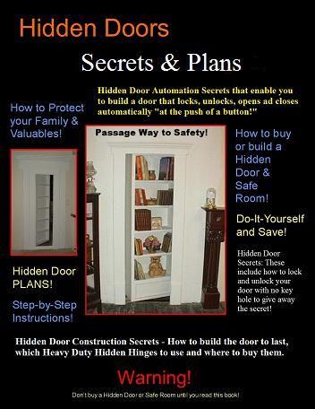 $49.99 DIY Hidden Doors