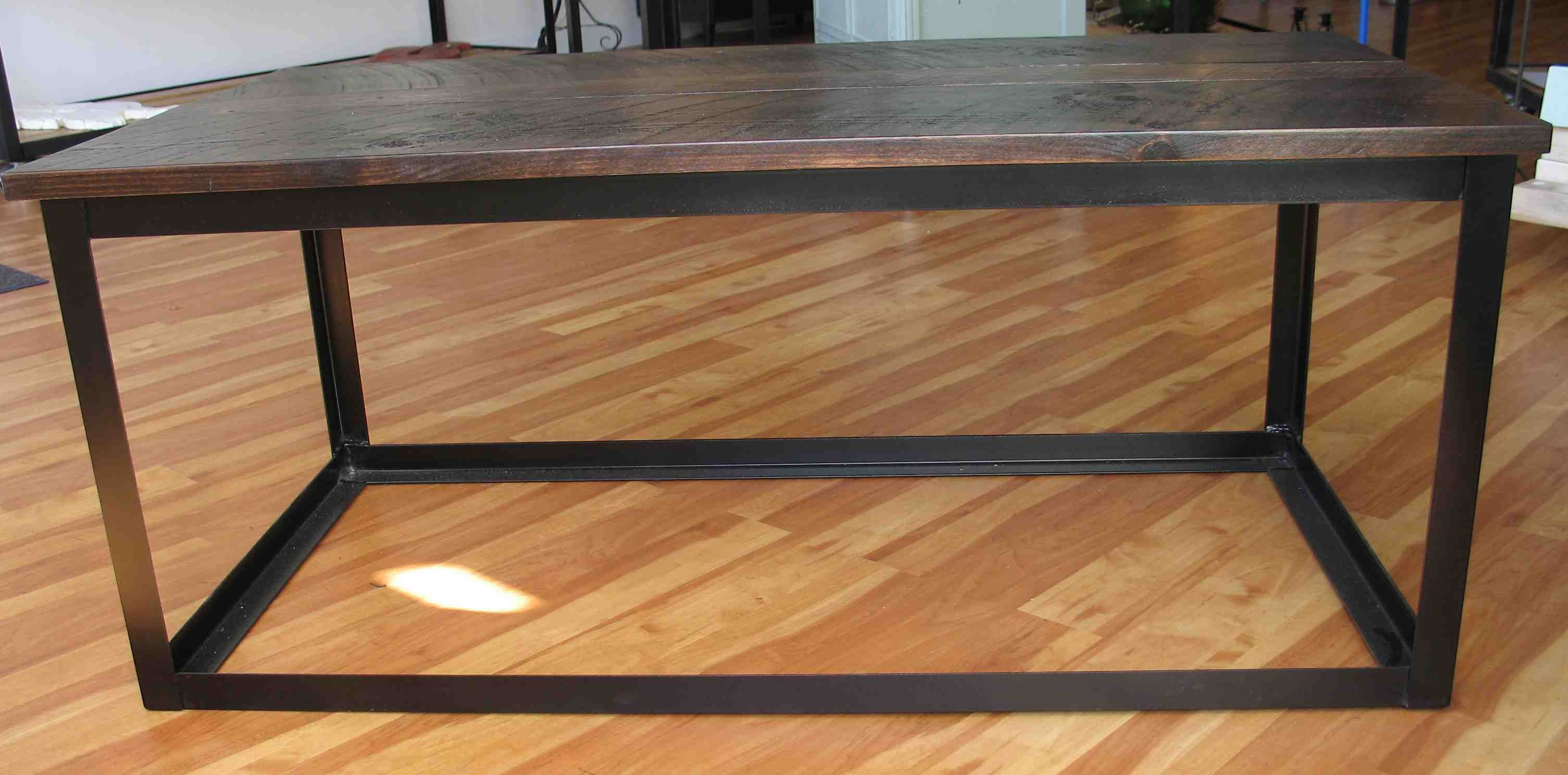 fy Diy Industrial Coffee Table And Table Set Design Ideas
