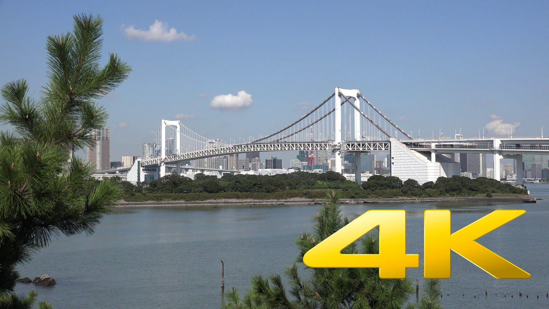 Odaiba - お台場 – 4K Ultra HD   Videos of Japan   Odaiba, Golden