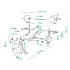 Rezultate imazhesh p r medidas de una banca para pesas - Equipamiento de gimnasios ...