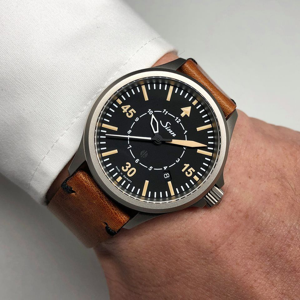 SINN 856 B-Uhr - the (limited) observer watch / SINN 856 B