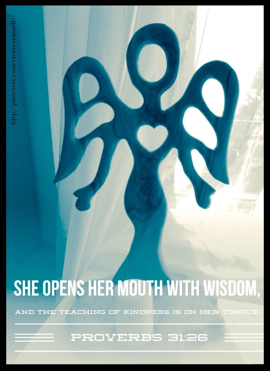 She opens her mouth with wisdom, and the teaching of ...