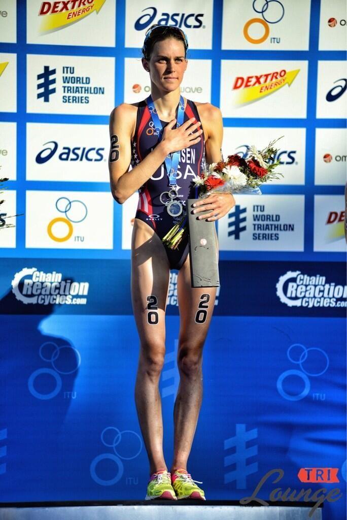 Gwen Jorgensen(USA) Wins 2013 WTS San Diego