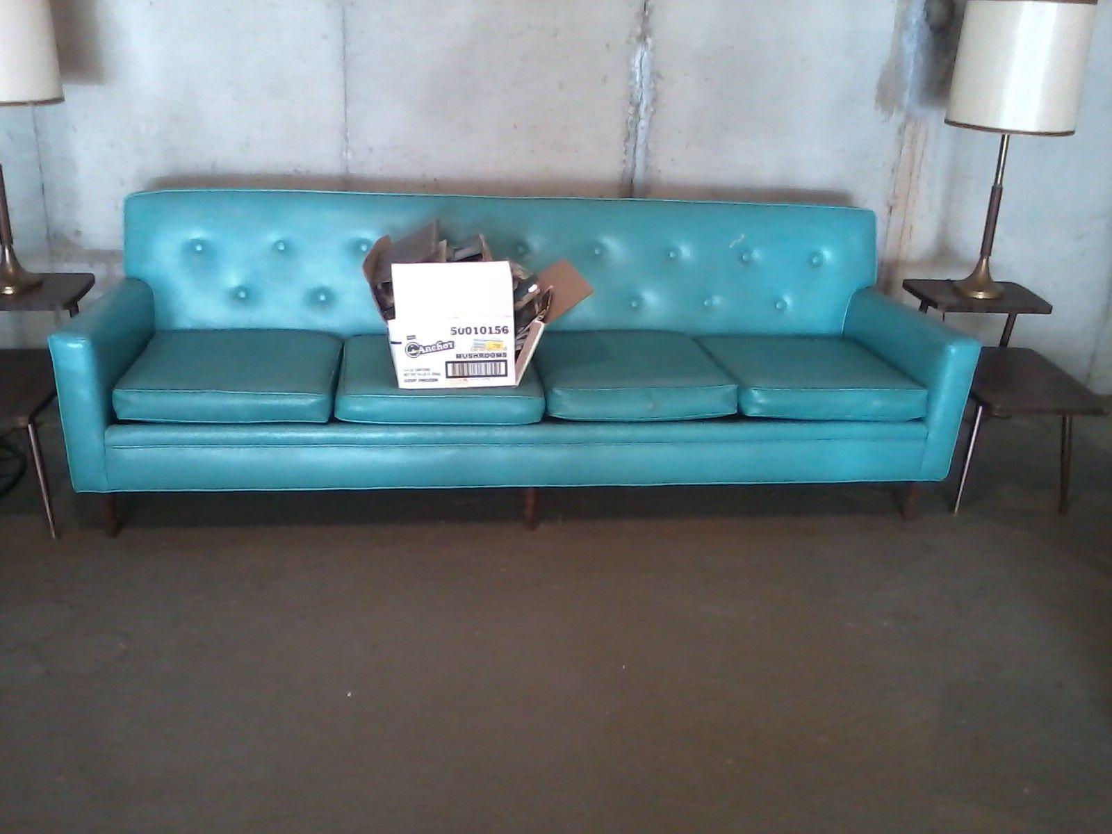 Best Retro Aqua Leather Sofa With Images Leather Sofa 640 x 480