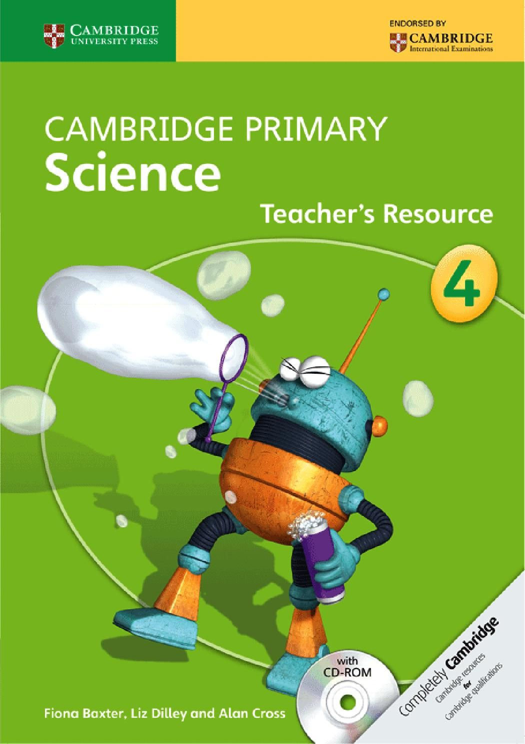 Preview Cambridge Primary Science Teacher's Resource Book Stage 4   Primary  science [ 1489 x 1050 Pixel ]