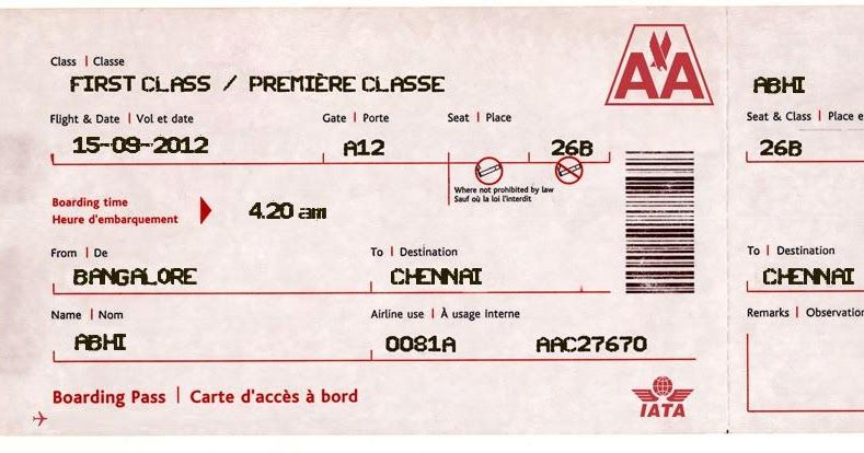 This Tutorial Shows You How To Create A Fake Airline Ticket With