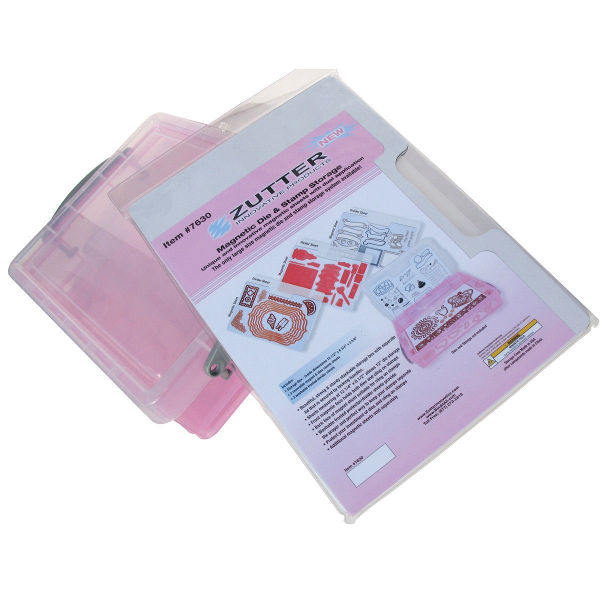 Zutter Magnetic Die And Stamp Storage Stamp Storage Storage Plastic Sheets