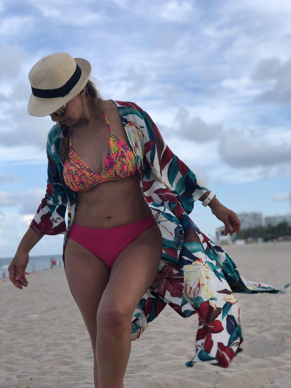 cd1bf051 kimono #verano #playa #flores #moda #mujeresbellas #miamibeach ...