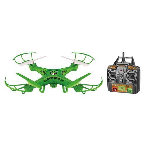 World Tech Toys Angry Birds The Pigs Squawk Copter RC Camera Drone