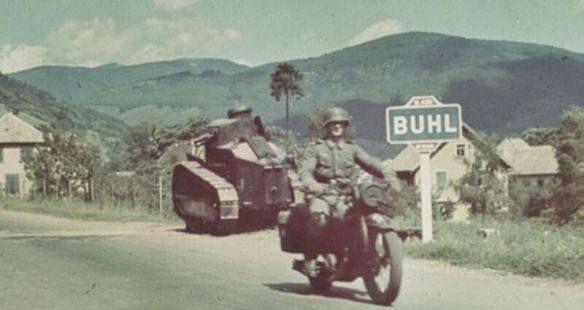 L'armée allemande déferle sur la France, mai-juin 1940