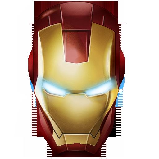 Mascara Iron Man Vector