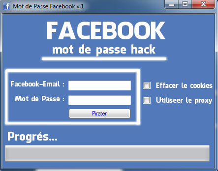 pirater facebook mot de passe