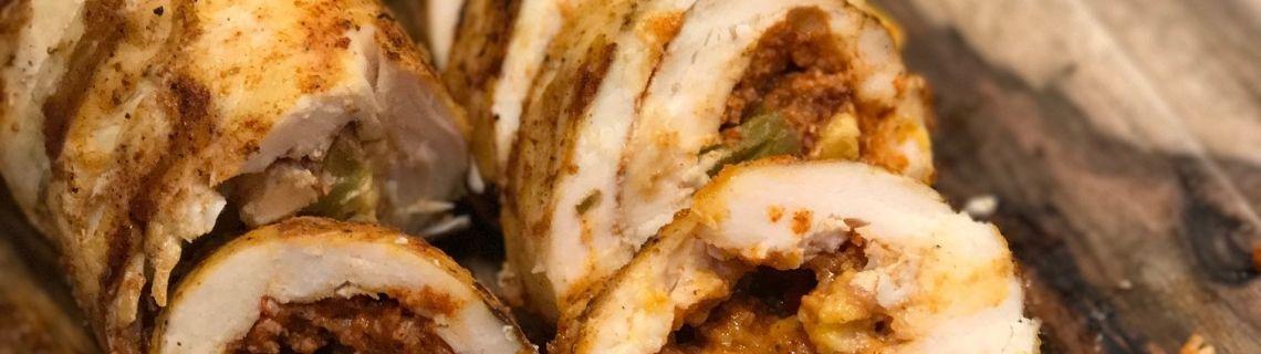 sous vide southwestern chicken roulade recipe sous vide
