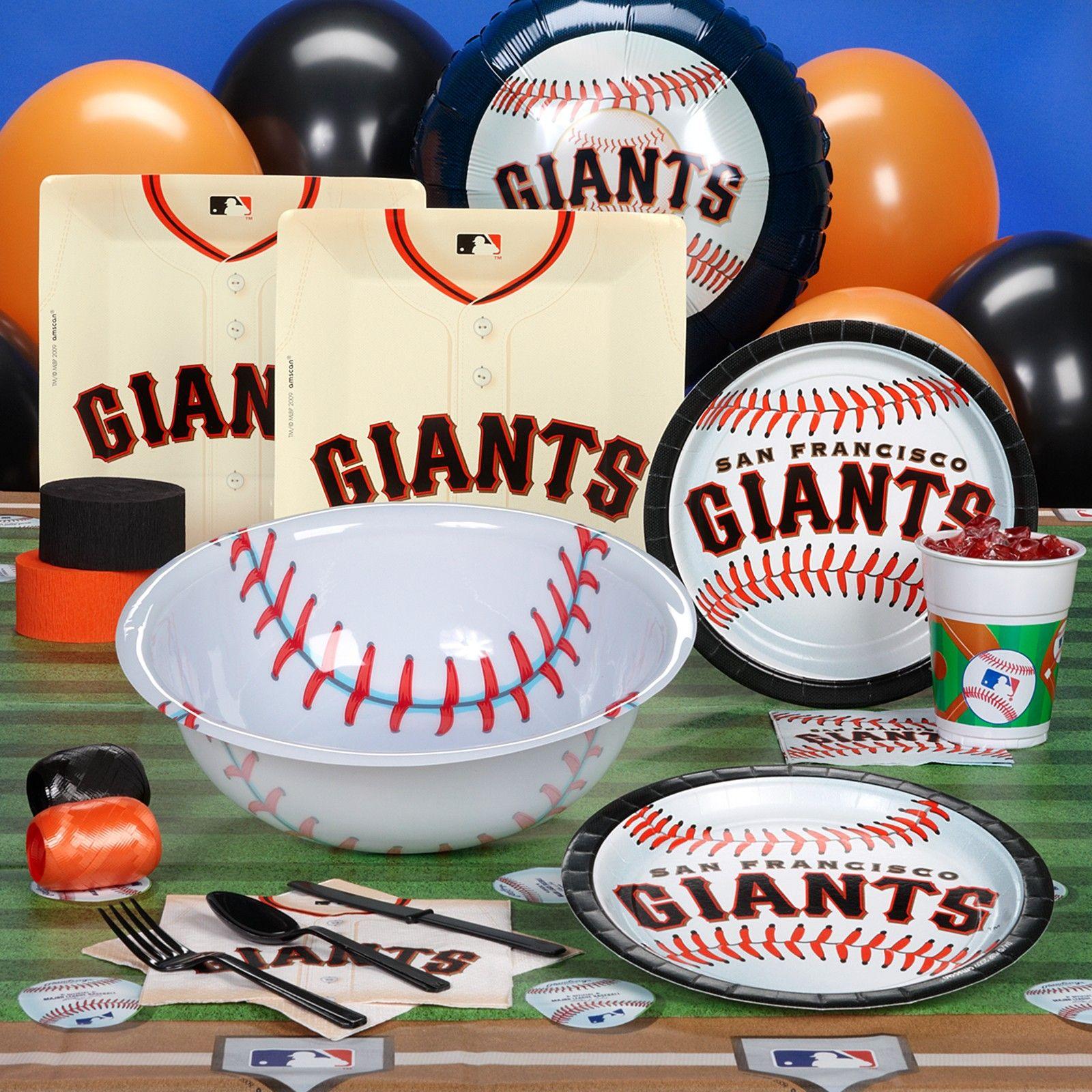 Giants Baseball Birthday Party