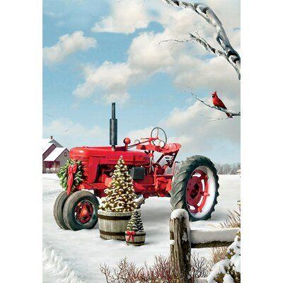 Magnet Works Patriotic Tractor MatMate