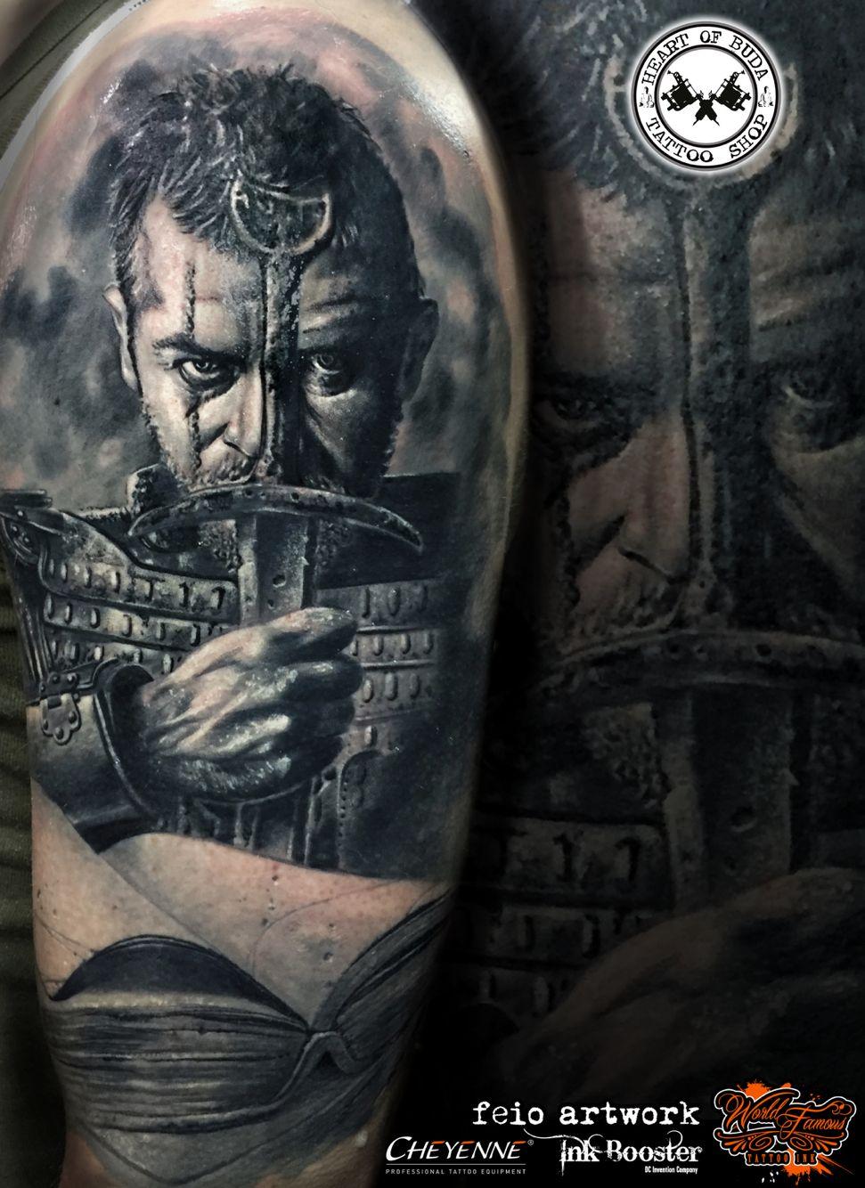 Viking warrior tattoo