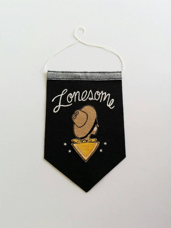 Custom 'Ms. Lonelyhearts' Back Patch Black & White  by eradura