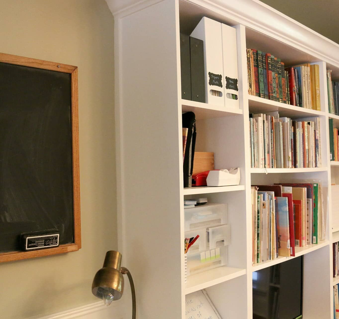 Billy Bookcase Builtins Billy bookcase, Ikea billy bookcase