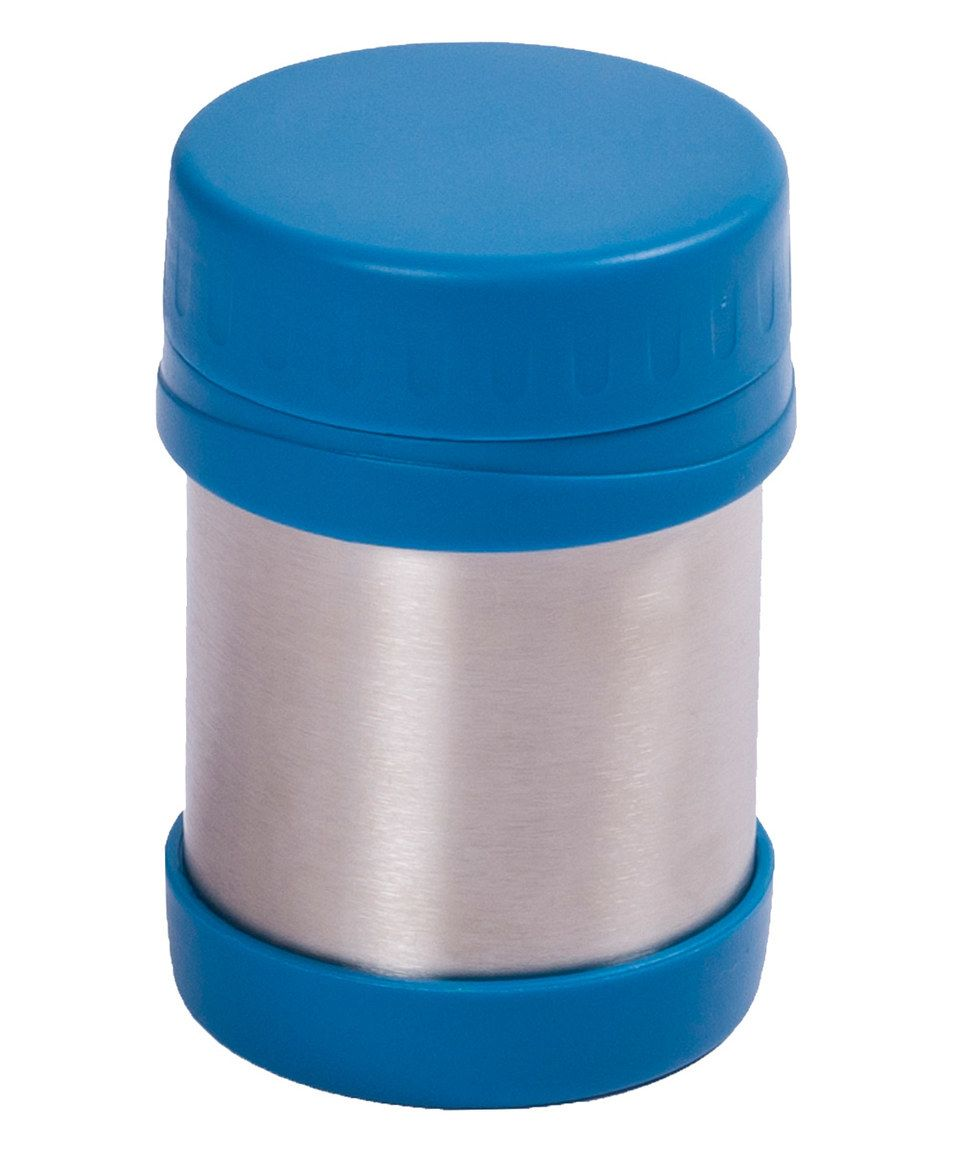 This Teal Stainless Steel Lunch Jar by Laptop Lunches Bento-ware is perfect! #zulilyfinds