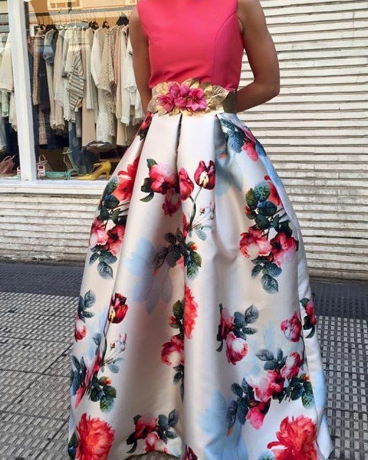 eeda764d00 Qué bonitas son las faldas estampadas y con volumen de  tacatucazaragoza  !!! No