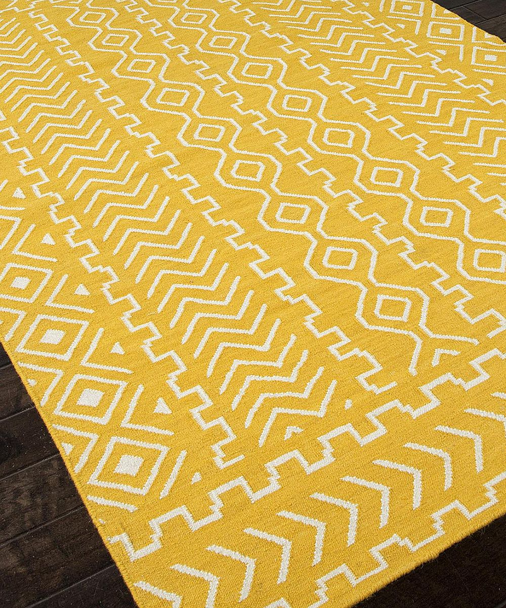 Yellow Tribal Rug Jaipur Rugs For The Home Rugs Jaipur Rugs