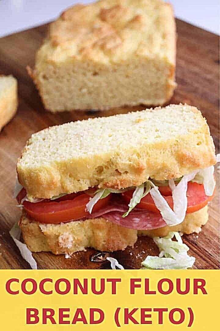 - A coconut flour bread recipe that's paleo friendly and low carb. coconut flour recipes keto // ket...