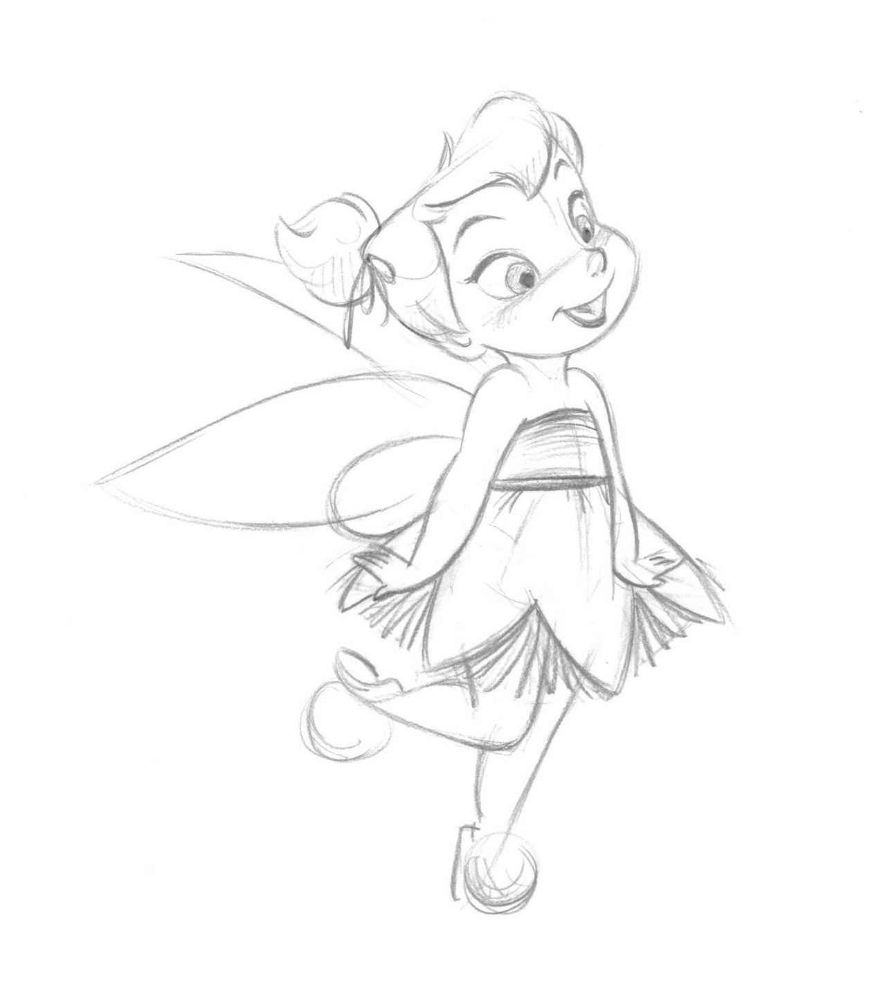 Uncategorized Tinkerbell Sketch Drawing steve thompson tattoos pinterest tinkerbell drawings and fairy concept art