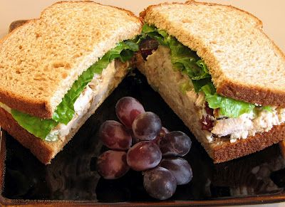 This may be the best chicken salad recipe ever...LOVE !
