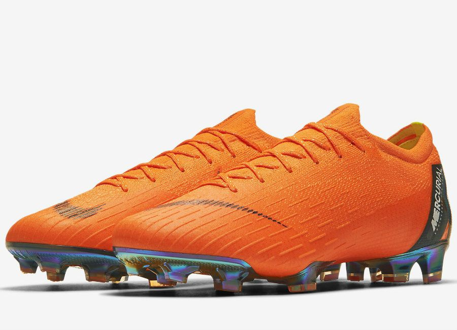 the best attitude 1cd54 abc46  football  soccer  futbol  nikefootball Nike Mercurial Vapor XII Elite FG -  Total Orange   Total Orange   Volt   White