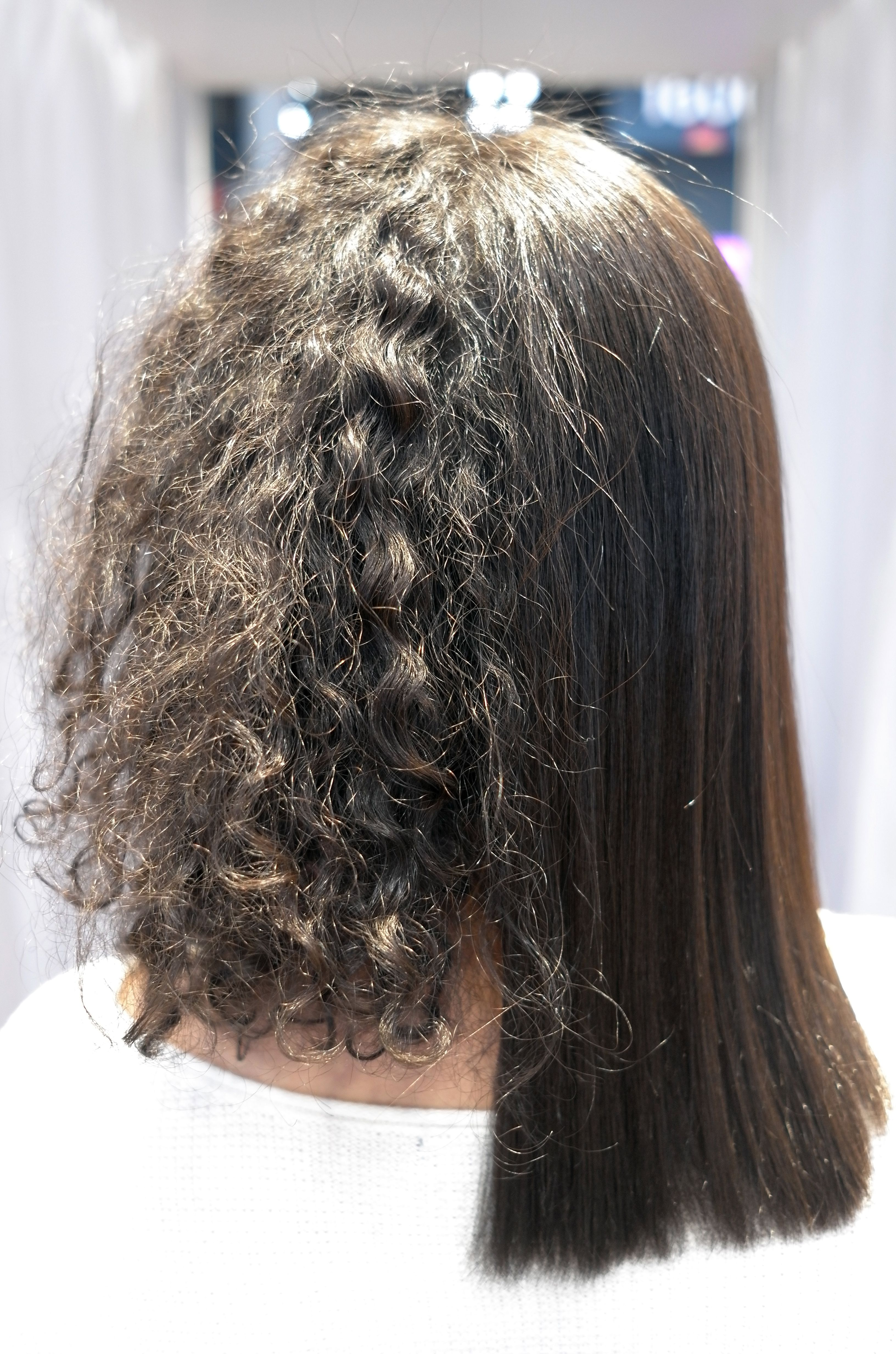 Results From The Uberliss Keratin Treatment Before