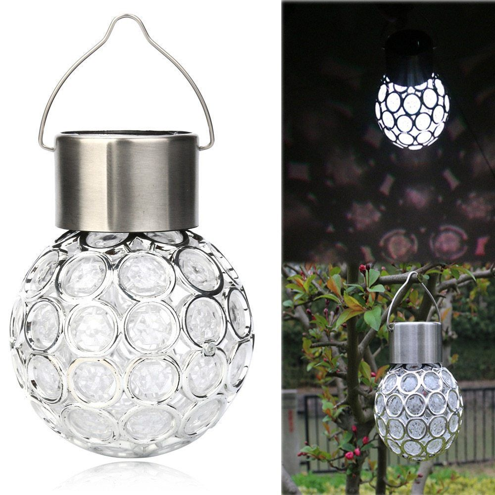 Solar Rotatable Outdoor Hanging LED | Solar panel lights ...