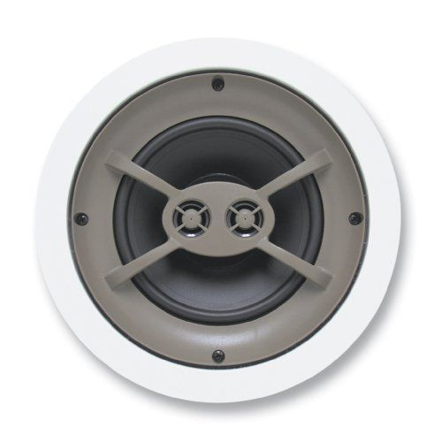 Dual Voice Coil Ceiling Speaker: Proficient Audio Systems C600TT 6.5-Inch Dual-Voice Coil